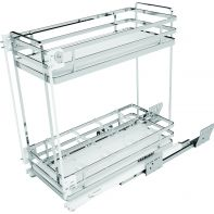 Sige pull-out unit, two baskets