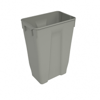 Sige spare bin for 1913xx series of waste management systems, 35l, grey plastic, each