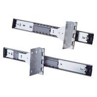 Repon pivot door slides, 356mm ball-bearing runner, zinc-plated, pair