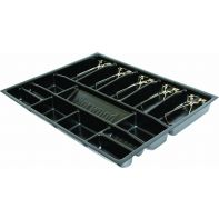 """Cash drawer insert """"Specialty"""", 5 notes / 8 coin compartments, 495 x 405 x 50mm, each"""