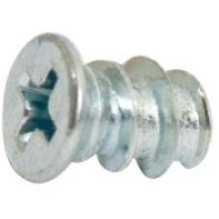 Euro screw, zinc plated, box of 1000