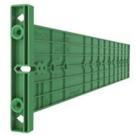 Grass Nova Pro drilling jig for cabinet member, green plastic (ea)