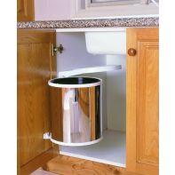 Kimberly waste bin (auto-open lid), white 10l, ea.