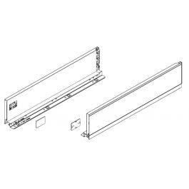 Topaz Slimline Drawer System sidewalls H167 NL350 (white), pair