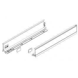 Topaz Slimline Drawer System sidewalls H86 NL500 (white), pair