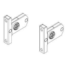 Topaz Slimline Drawer System screw-in front brackets H86 (set)
