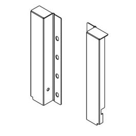 Topaz Slimline Drawer System rear bracket H199 (white), pair