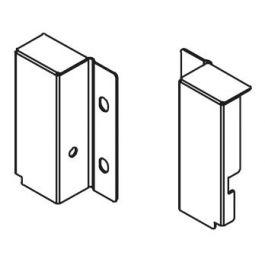 Topaz Slimline Drawer System rear bracket H86 (white), pair