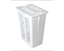 Sige spare basket for 191506 double laundry hamper, 30l, incl. lid, white plastic, each