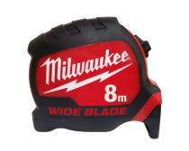 Milwaukee Wide Blade Tape Measure, 8m