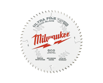 "Milwaukee Circular Saw Blade, Ultra Fine 7-1/4"" 184mm 60T"