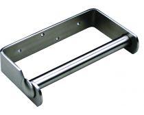 Metlam toilet roll holder, stainless steel, each